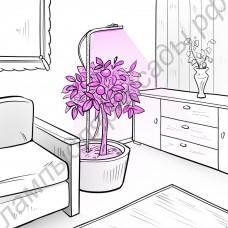 """Подсветка для растений в горшках """"Фейт"""""""