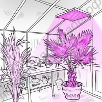 """Подвесной сверхмощный светодиодный светильник для гроубоксов, теплиц, оранжерей, зимних садов """"Изис"""" 500-1000Вт"""